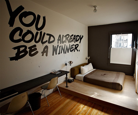 Ace Hotel Room Design - You Could Already Be A Winner